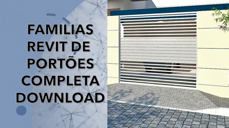 Download famílias Revit de portões