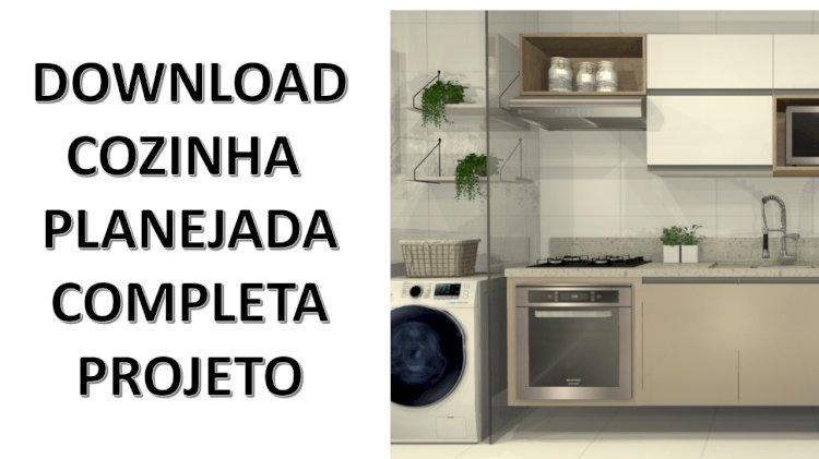 Download Projeto cozinha planejada
