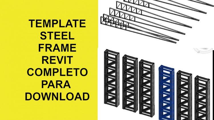 Template steel frame revit