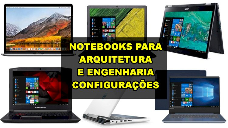 Notebooks para arquitetura e engenharia