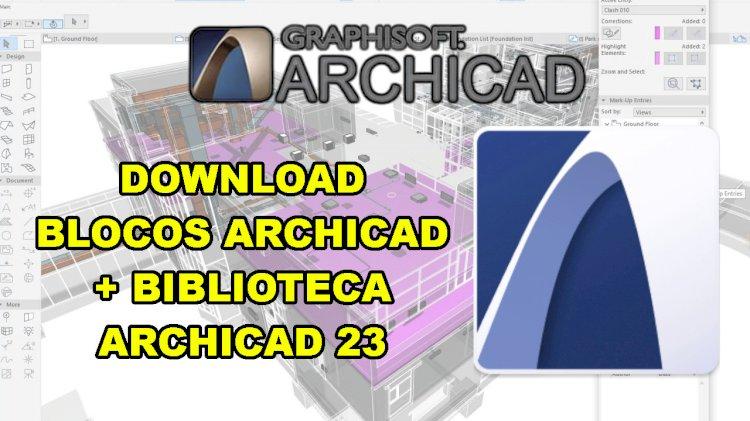 Blocos archicad 22 para download